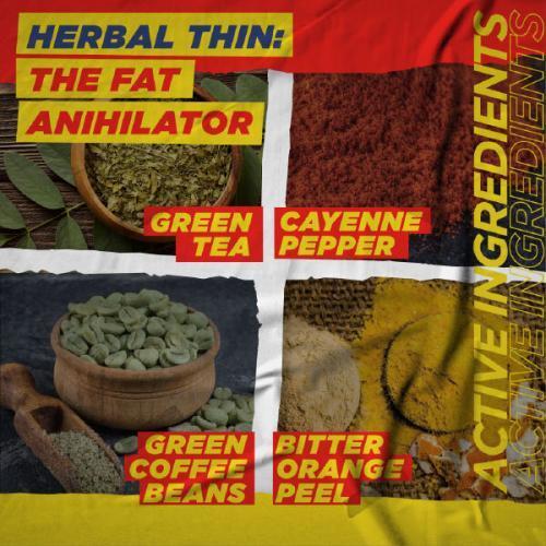Herbal weight loss pill